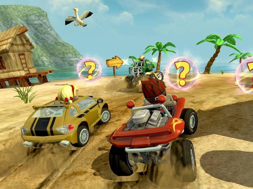 مميزات لعبة موتوسيكلات الشاطئ