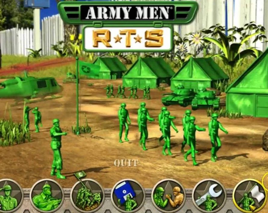 مميزات لعبة الجيش الأخضر