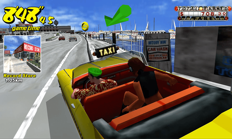 مميزات لعبة كريزي تاكسي