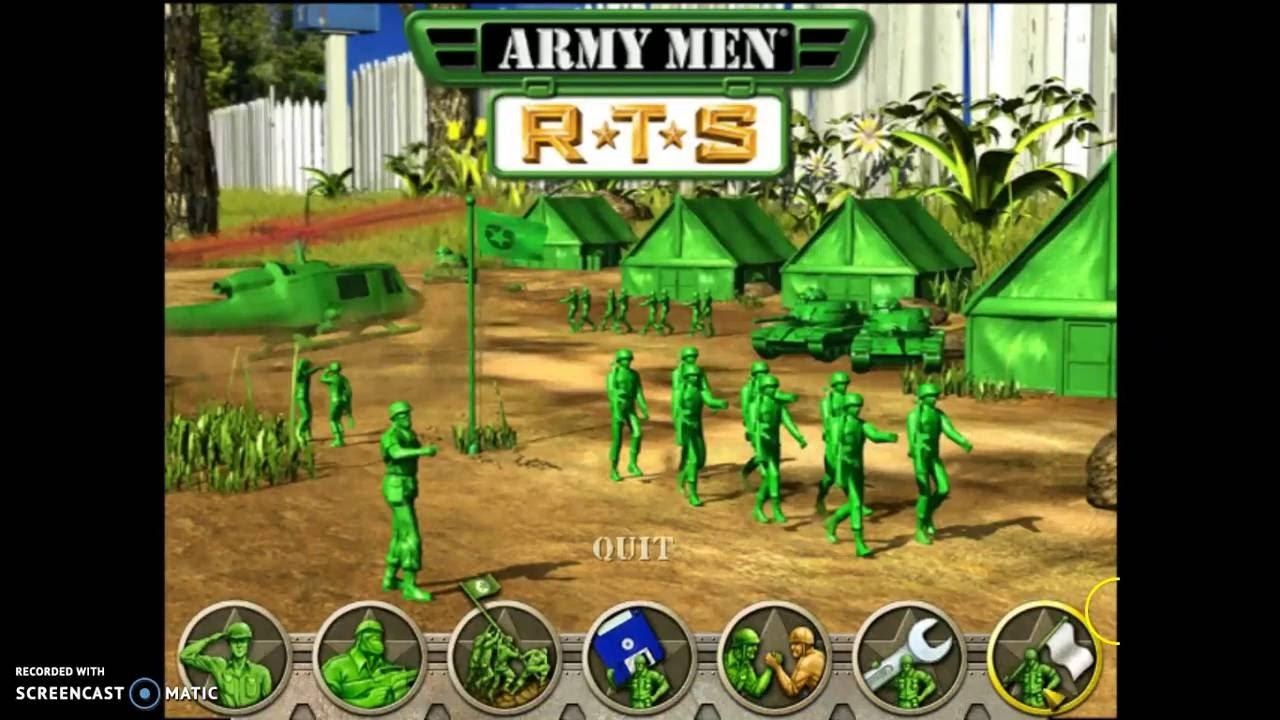 موصفات لعبة الجيش الأخضر
